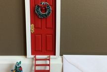 Elf dörr