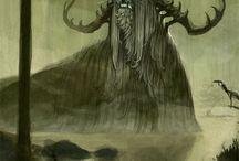 Suomen mytologia, uskomukset / Finnish mythology and old religions