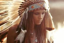 Boho / Gypsy Style Indian Headdresses / Get your inner Boho Child on with our feather headdresses...
