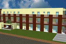 """Nuovo plesso commerciale e residenziale """"La fabbrica"""" / Progetto per la realizzazione di un nuovo plesso commerciale e residenziale - Monselice"""
