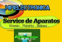 Servicio de Reparación de Equipos de Estética , Belleza , Medicina , Kinesiologia .