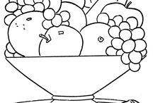 pracovní listy - ovoce