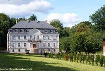 Wielin - Pałac / Pałac w Wielinie wzniesiony w 1883 r. Obecnie wystawiony na sprzedaż.
