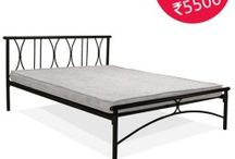 Queen Size Bed with Free Foam Mattress