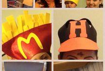 Crazy hats / by Hildelena Calderon Bravo
