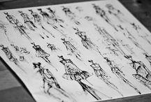 Ilustration-art-sketches / by Itzel Sharaff