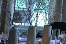 TABLESCAPES / Table Settings - Dishes - Table Decor - Centerpieces