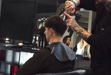Hannah's barbering course