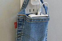 Jeans återbruk