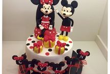 Minnie &Mickey cake