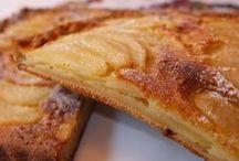 tarta de peras y manzana