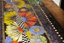 MOSAICS, TILES & GLASSWORKS / by Jacqueline Marie