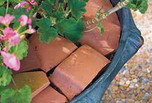 broken terracota pot