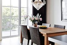 Dining in Glamour / A collection of stylish and contemporary glamorous designs for the dining room