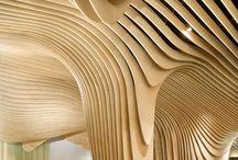 FLUID / Plafond, entre 2 murs.... / by Sylvie Maréchal