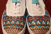 Malované tenisky / Painted sneakers