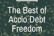 The Best of Accio Debt Freedom / The best of the Accio Debt Freedom Podcast. Create your own financial magic! | Personal finance | millennial money tips | student debt | payoff debt | enjoying life | credit card debt | mortgage pay off | debt freedom | debt free | money management | debt and life balance