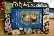 Auburn, Alpha Xi Delta, college / by Lauren Whaley