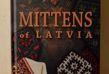 Mittens, gloves and cuffs