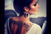 Back Tattoo / by Carson Heiny