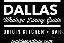 Dallas Whole30 Dining Guide / Places in Dallas to find Whole30 Friendly food!