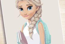 Drawings Frozen