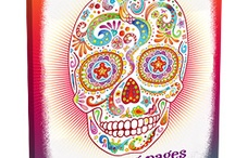 Día de los Muertos (Day of the Dead) / Visit ChellyWood.com for free sewing patterns to celebrate Mexican holidays and las quinceañeras.