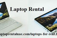 Laptop Rental Solutions Dubai