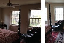 BEFORE & AFTER by Laura Lee Home / Before and After projects completed by Laura Lee Home.