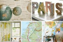 DIY - Inspiration with maps