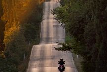 Nice Motorcycle Roads / If your a motorcyclist here are a couple photos that will get your blood pumping, if they don't you better check for a pulse.