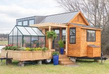 Design features - exterior / Exterior design features that could be used in, on or around a tiny home.