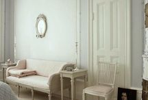 Gustavian Interiors / Research for a miniature replica