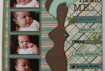 Scrapbook - Baby Books / Pregnancy and 1st year / by Erin Schrader