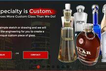 Custom Glass Liquor Bottles