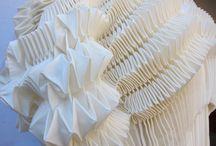 Pliages textiles