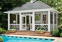 Landscaping / Landscape design around your pool is a neat way to accentuate your backyard.