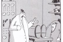 The Far Side / The fabulous and long gone The Far Side comic strip.