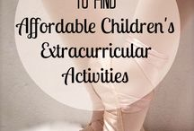 homeschool extracurricular activities / by Kelley Hill-Cate