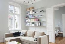 kitchen lounge space