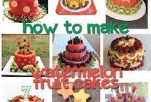 Watermelon Cake Ideas