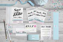 Wedding stationery :-: Folded Pixel / Wedding stationery by Folded Pixel Design Studio