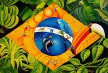 Bandeira brasileira.