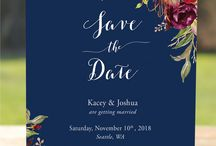 Fall 2018 wedding