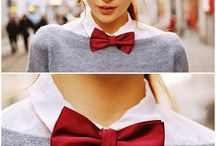 Bow tie and ties
