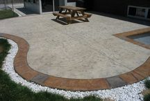 Stamped concrete / Stamped concrete