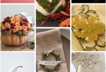 THANKSGIVING / Thanksgiving recipes, decor, crafts, and inspiration. Enjoy!