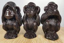3 wise monkey