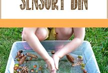 Autumn Sensory ideas