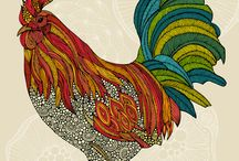 chickens / by Robin Rutledge-Monillas